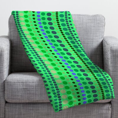 Romi Vega Retro Throw Blanket Size: Small