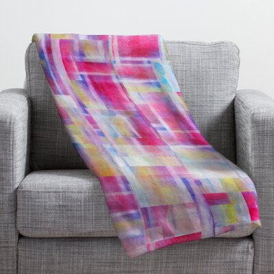 Jacqueline Maldonado Space Between Throw Blanket Size: Small