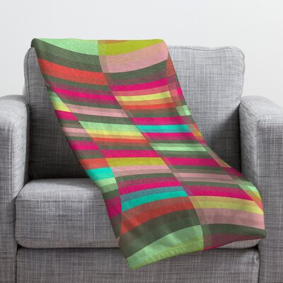 Jacqueline Maldonado Spectacle Throw Blanket Size: Large