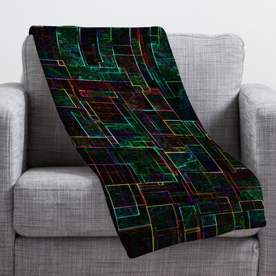 Jacqueline Maldonado Matrix Throw Blanket Size: Medium