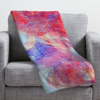 Jacqueline Maldonado Sweet Rift Throw Blanket Size: Medium
