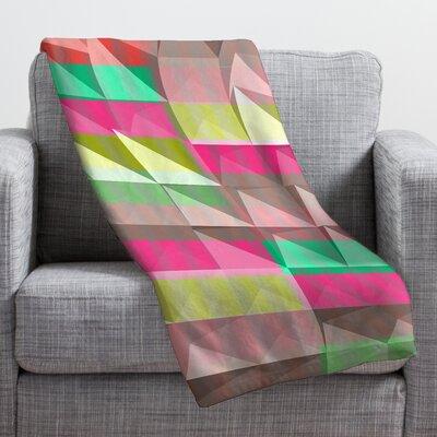 Jacqueline Maldonado Pyramid Scheme Throw Blanket Size: Medium