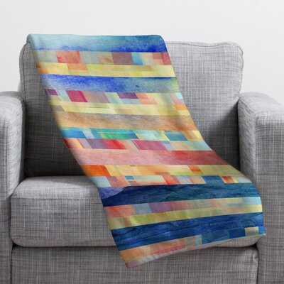 Jacqueline Maldonado Amalgama Throw Blanket Size: Medium