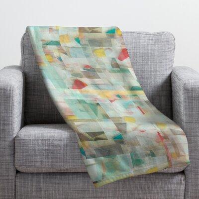 Jacqueline Maldonado Mosaic Throw Blanket Size: Medium