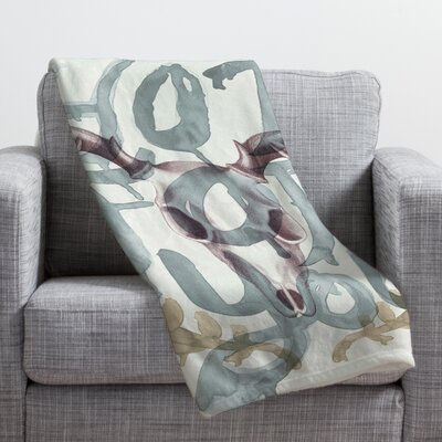 Wesley Bird Hot For You Throw Blanket Size: Large