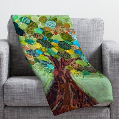 Elizabeth St Hilaire Nelson Spring Tree Throw Blanket Size: 80 H x 60 W