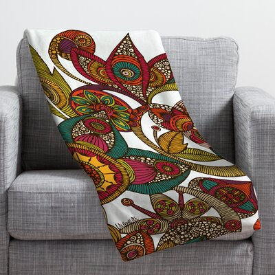 Valentina Ramos Garden Ava Throw Blanket Size: Large
