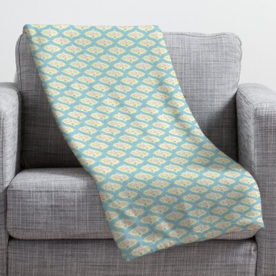 Sabine Reinhart Into The Sky Throw Blanket Size: Large