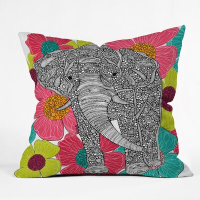 Deepak Throw Pillow Size: 18 H x 18 W