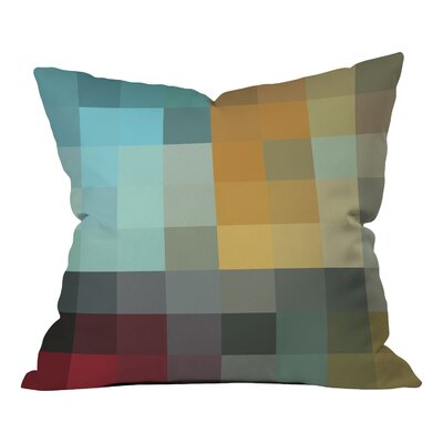 Modern Throw Pillow Size: 16 H x 16 W