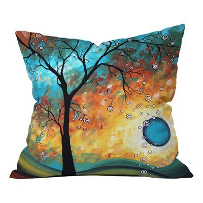 Madart Inc Outdoor Throw Pillow Size: 16 x 16