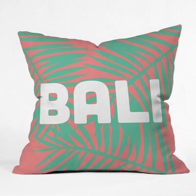 Zoe Wodarz Bali Life Polyester Throw Pillow Size: 16