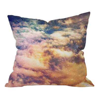Shannon Clark Cosmic Throw Pillow Size: Small