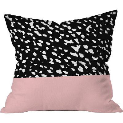 Nina Outdoor Throw Pillow Size: 18 H x 18 W x 4 D