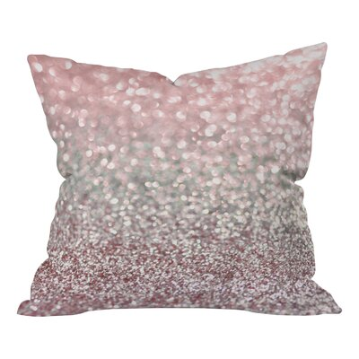 Lisa Argyropoulos Snowfall Woven Throw Pillow Size: Medium, Color: Girly Pink