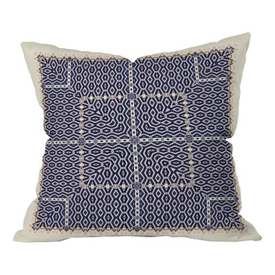 Square Outdoor Throw Pillow Size: Medium