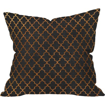 Moroccan Night Outdoor Throw Pillow Size: 18 H x 18 W x 4 D