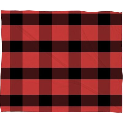 Winter Plaid Throw
