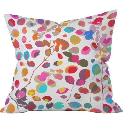 Wildrose 5 Outdoor Throw Pillow