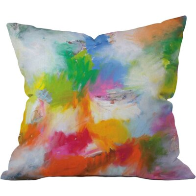 Color Cumbustion Outdoor Throw Pillow