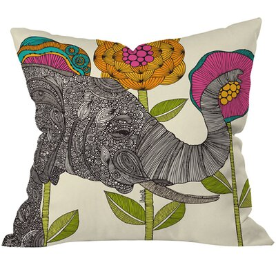 Aaron Throw Pillow Size: 18 H x 18 W