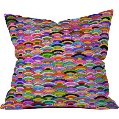 Fimbis A Good Day Throw Pillow Size: Medium