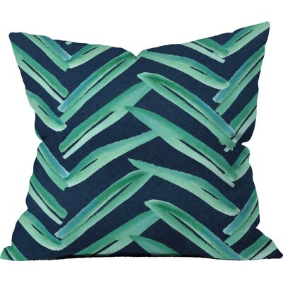 Palm Reading Outdoor Throw Pillow