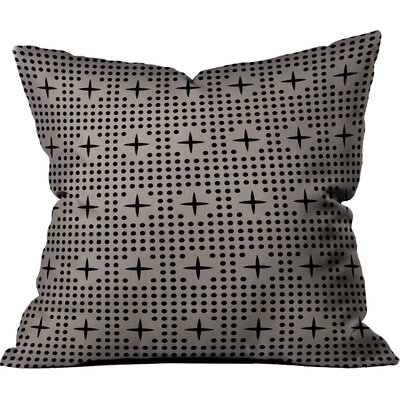 Dot And Plus Outdoor Throw Pillow