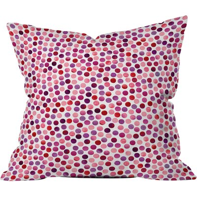 Garima Dhawan Dots Throw Pillow Size: Medium