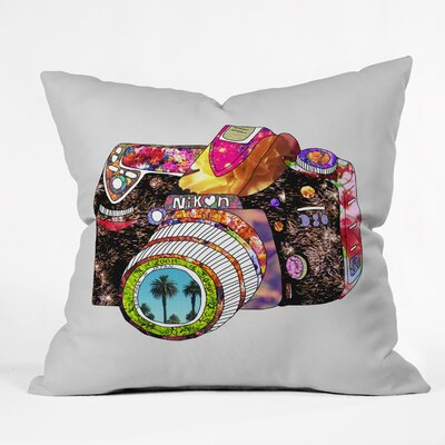 Bianca Green Picture Throw Pillow Size: 18 x 18