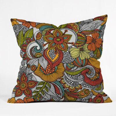 Valentina Ramos Ava Throw Pillow Size: 18 x 18