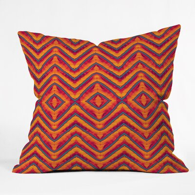 Wagner Campelo Sanchezia 1 Throw Pillow Size: 18 x 18