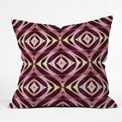 Wagner Campelo Calathea Throw Pillow Size: 18 x 18