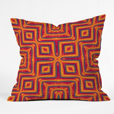Wagner Campelo Sanchezia X Throw Pillow Size: 18