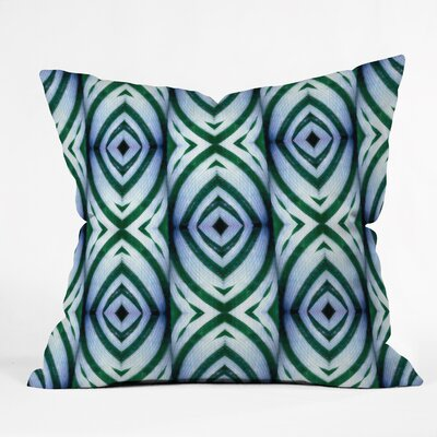 Wagner Campelo Maranta Throw Pillow Size: 18 x 18, Color: White Maranta 1