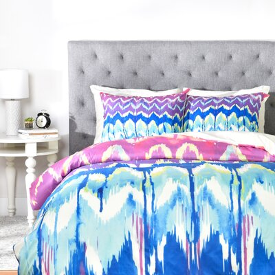 Holly Sharpe Summer Dreaming Duvet Cover Size: King, Fabric: Lightweight