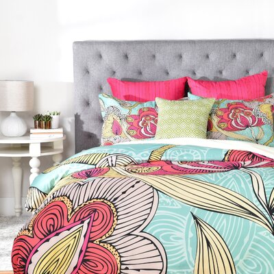 Deepak Beatriz Duvet Cover Size: Twin, Fabric: Lightweight