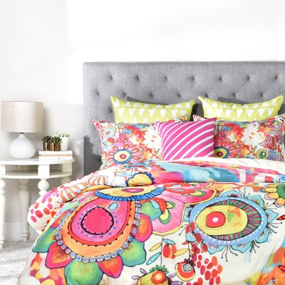 Kilmersdon Duvet Cover Size: Queen, Fabric: Lightweight