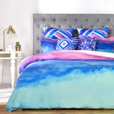 The Sound Lightweight Duvet Cover Size: Queen, Fabric: Lightweight
