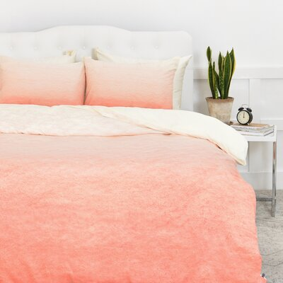 Social Proper Ombre Duvet Cover Size: Twin/Twin XL