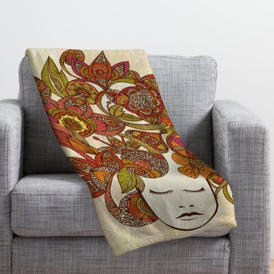 Valentina Ramos Its All in Your Head Throw Blanket Size: Large