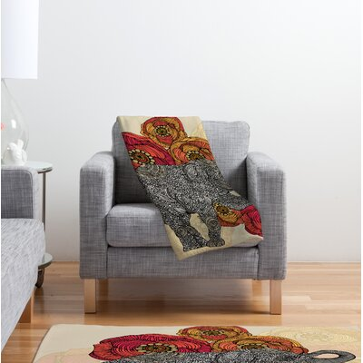 Valentina Ramos Rosebud Throw Blanket Size: Large