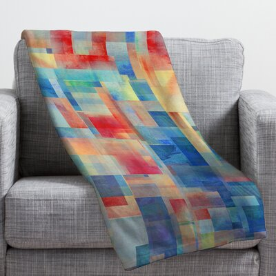Jacqueline Maldonado Torrentremix Fleece Throw Blanket Size: Large