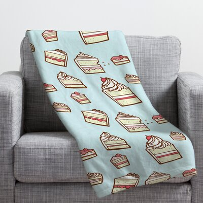 Jennifer Denty Cake Slices Throw Blanket Size: Large
