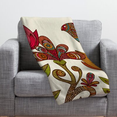 Valentina Ramos in The Garden Throw Blanket Size: Medium