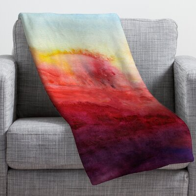 Jacqueline Maldonado Where I End Throw Blanket Size: Medium