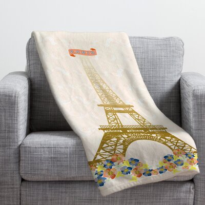 Jennifer Hill Throw Blanket Size: Large
