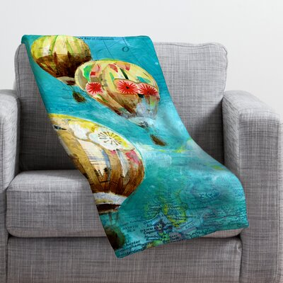 Land Of Lulu Throw Blanket Size: Medium