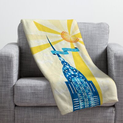 Jennifer Hill Throw Blanket Size: Medium