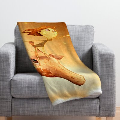 Jose Luis Guerrero Throw Blanket Size: Large
